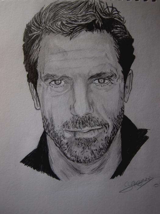 Hugh Laurie par Ikigami